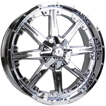 XTREME MUDDER 160 20X9+0 5X127+5X139.7 C.B 78.10 CHROME