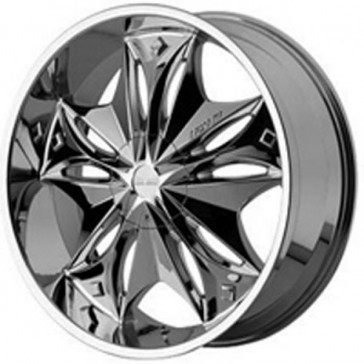 LEXANI FIRESTAR 20X8.5+40 5X114.3 C.B 73MM CHROME