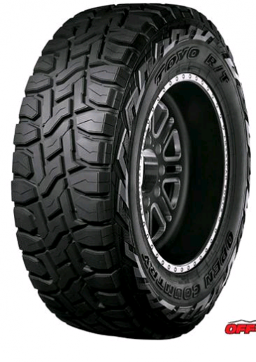 37X12.50R17 TOYO OPEN COUNTRY R/T 124Q 8PLY 45K
