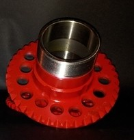 SPOKE ADAPTER  10HOLE 5X100 / 5X110(RED)