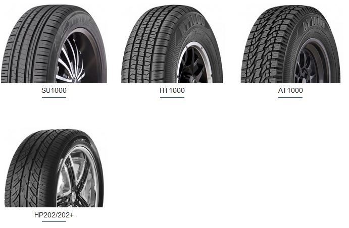 zeetex suv tires