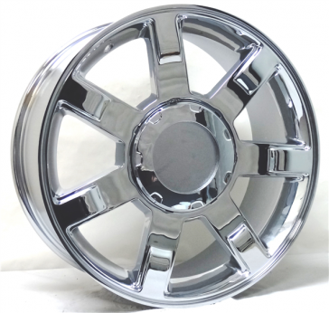 GMC,CHEY REPLICA L251 20X9+31 6X139.7 C.B 78.1 CHROME
