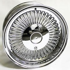 13X7 REV 80 SPOKE [5X120+5X114.3+5X127] BOLT ON CHROME**MISSING CAPS**