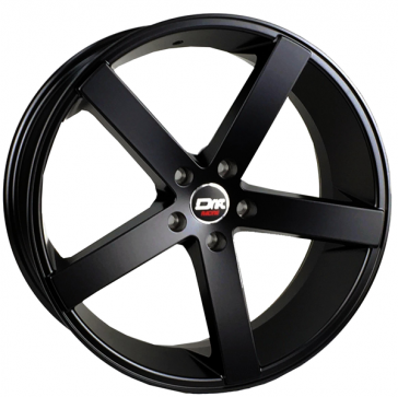DRIFT L909 20X8.5+35 5X114.3 C.B 74.10 ALL FLAT BLACK
