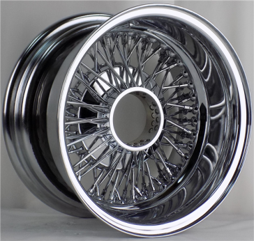 13X7 REV CROSS LACE 72 SPOKE K/O ALL CHROME