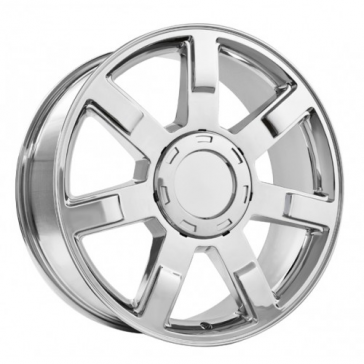 D02 [CADILLAC, YUKON, GMC] REPLICA 24X10+31 6X139.7 C.B 78.10 CHROME[ ADD LOGO PART#847-00138622] **