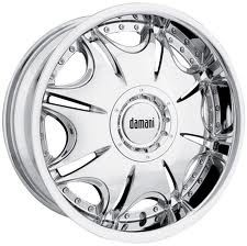 DAMANI GOLIATH 22X9.5+15 5X115+5X120 C.B 78 CHROME