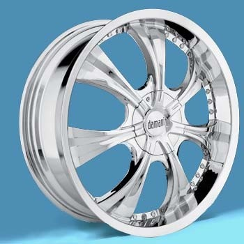 DAMANI BABYLON 18X7.5+40 5X114.3+5X120 C.B 73.10 CHROME