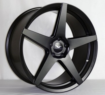 L217 20X9+25 5X120 C.B 74.1 MATTE BLACK  ***STAGGERED***