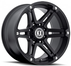 KATANA CP01 22X11-25 6X139.7 FULL MATTE BLACK CB108MM