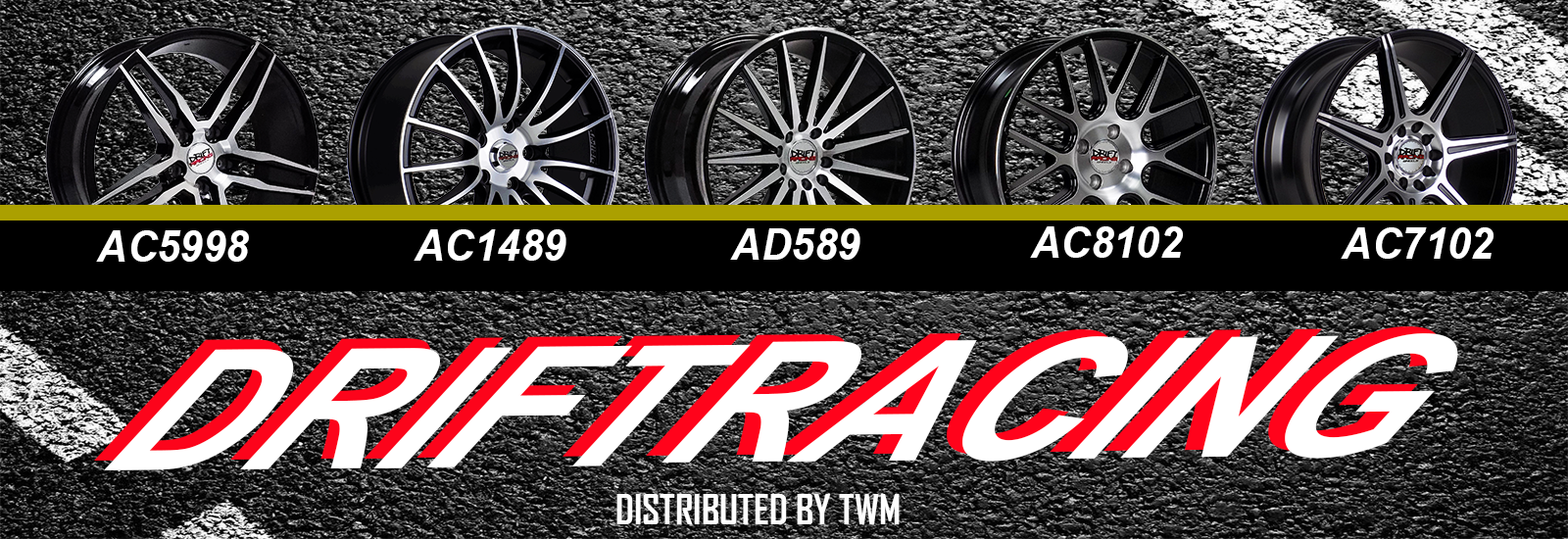 DRIFT RACING WHEELS
